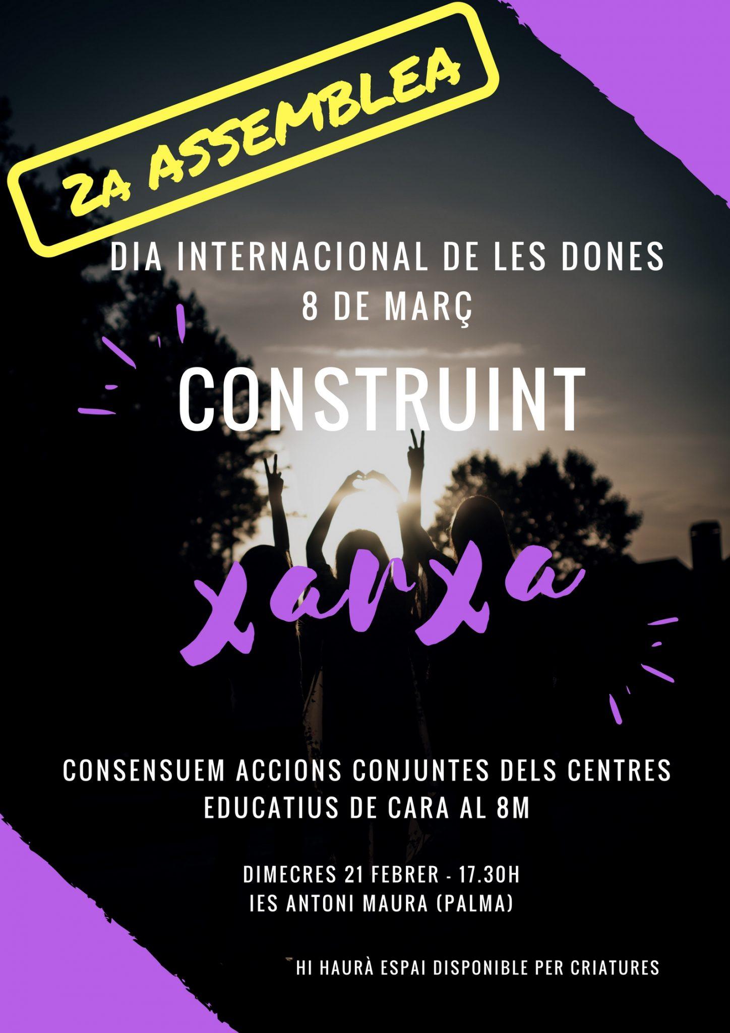 Segona assemblea vaga feminista als centres educatius (21-02-18)