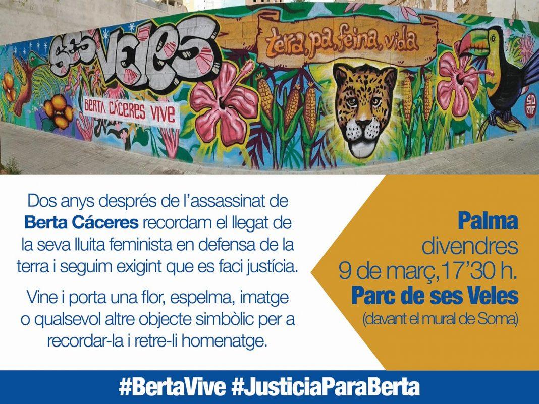 Homenatge a Berta Cáceres (09-03-18)