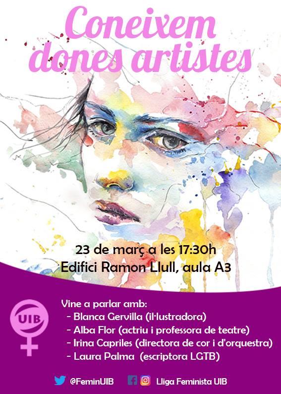 Coneixem dones artistes (23-03-18)
